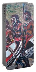 Blaa Kattproduksjoner       Masaai Warriors Portable Battery Charger