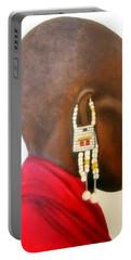 Masai Woman - Original Artwork Portable Battery Charger