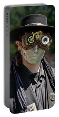Masked Man - Steampunk Portable Battery Charger