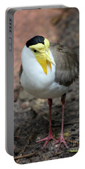 Masked Plover Pose Portable Battery Charger