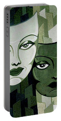 Masks Verde Portable Battery Charger by Tara Hutton