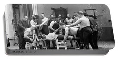Massage Between Wrestlers Training 1904 Portable Battery Charger