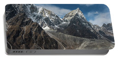 Portable Battery Charger featuring the photograph Massive Tabuche Peak Nepal by Mike Reid