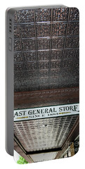 Portable Battery Charger featuring the photograph Mast General Store II by Skip Willits