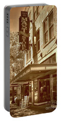 Portable Battery Charger featuring the photograph Mast General Store by Skip Willits