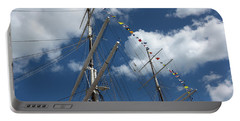 Masts Against The Sky Portable Battery Charger