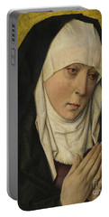 Mater Dolorosa  Sorrowing Virgin Portable Battery Charger