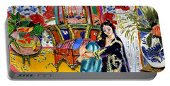 Matisse's Open Room Portable Battery Charger