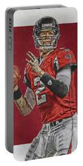 Matt Ryan Atlanta Falcons Art Portable Battery Charger