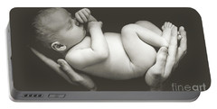 Matte Baby Art Portable Battery Charger