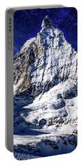 Matterhorn At Twilight Portable Battery Charger