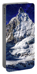 Matterhorn At Twilight Portable Battery Charger