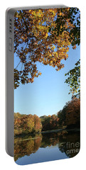 Matthiessen Lake In Autumn Portable Battery Charger