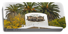 Portable Battery Charger featuring the photograph Matties Tavern Los Olivos California by Floyd Snyder