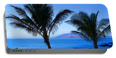Maui Coastline Portable Battery Charger by Michael Rucker