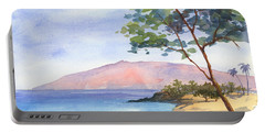 Portable Battery Charger featuring the painting Maui Dream by Darice Machel McGuire