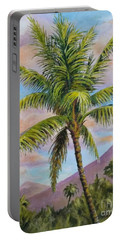 Maui Palm Portable Battery Charger by William Reed