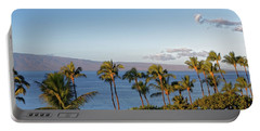 Portable Battery Charger featuring the photograph Maui Palms by Lars Lentz