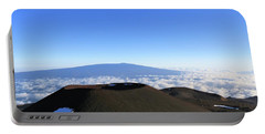 Mauna Loa In The Distance Portable Battery Charger