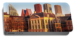 Portable Battery Charger featuring the photograph Mauritshuis At Golden Hour - The Hague by Barry O Carroll