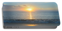 Portable Battery Charger featuring the photograph May 23 Sunrise by Barbara Ann Bell