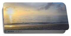 Portable Battery Charger featuring the photograph May 28th Sunrise by Barbara Ann Bell
