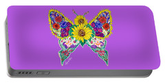 May Butterfly Portable Battery Charger