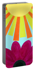 May Flowers Portable Battery Charger