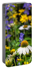 Portable Battery Charger featuring the photograph May Flowers by Steven Sparks