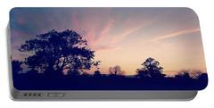 May Sunrise, Lancashire, England Portable Battery Charger