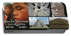Mayan Olmec Portable Battery Charger