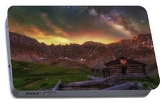 Portable Battery Charger featuring the photograph Mayflower Milky Way by Darren White