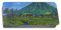 Mayon Volcano Portable Battery Charger