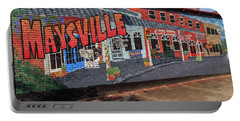 Portable Battery Charger featuring the photograph Maysville Mural by Doug Camara