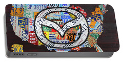 Mazda License Plate Map Of The Usa Portable Battery Charger
