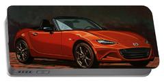 Mazda Mx-5 Miata 2015 Painting Portable Battery Charger