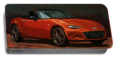Mazda Mx-5 Miata 2015 Painting Portable Battery Charger