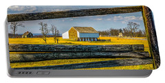 Portable Battery Charger featuring the photograph Mc Pherson Barn - Gettysburg National Park by Nick Zelinsky