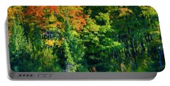 Portable Battery Charger featuring the photograph Mccarston's Lake by Gary Hall
