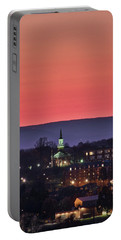 Portable Battery Charger featuring the photograph Mcdaniel At Sunset by Mark Dodd