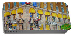 Mcdonald Restaurant Old Montreal Portable Battery Charger