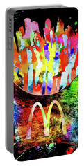 Mcdonald's French Fries Grunge Portable Battery Charger