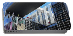 Portable Battery Charger featuring the photograph Mcgee Building  Ottawa by John Schneider
