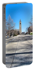 Mcgraw Tower  Portable Battery Charger by Elizabeth Dow