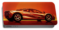 Mclaren F1 1994 Painting Portable Battery Charger