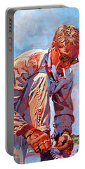 Mcqueen Cool - Steve Mcqueen Portable Battery Charger