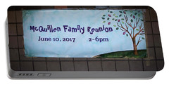 Mcquillen Family Reunion 2017 Portable Battery Charger