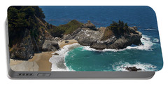 Mcway Falls In Big Sur Portable Battery Charger