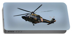 Md State Police Helicopter Portable Battery Charger by Robert Banach