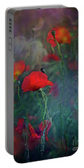 Meadow In Another Dimension Portable Battery Charger